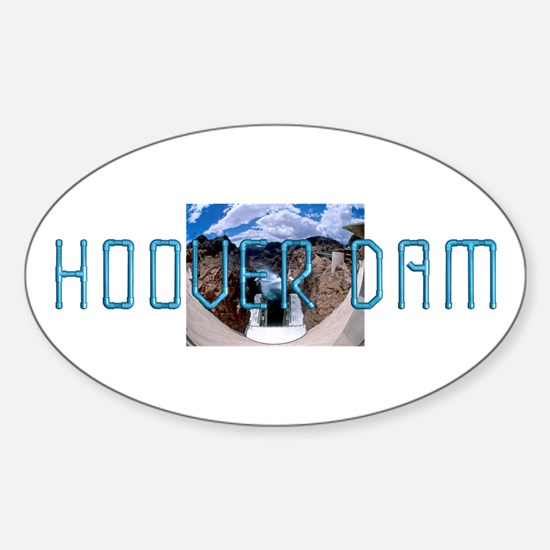 ABH Hoover Dam Sticker (Oval)