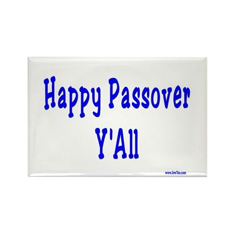 Happy Passover Y'All Rectangle Magnet (10 pack)