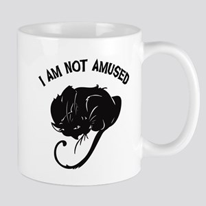 Not Amused Cat Mug