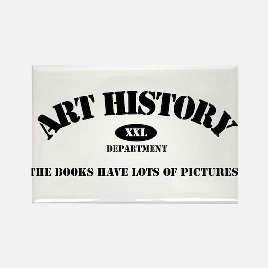 Art History Majors Rectangle Magnet
