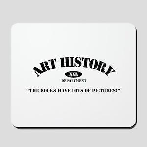 Art History Majors Mousepad