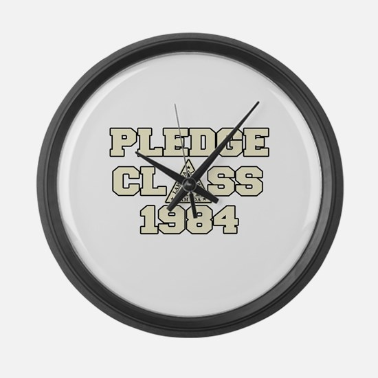 revenge of the nerds pledge c Large Wall Clock