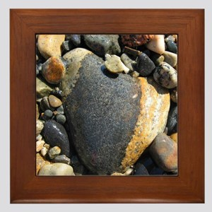 Acadia N.P. Sea Rocks Framed Tile