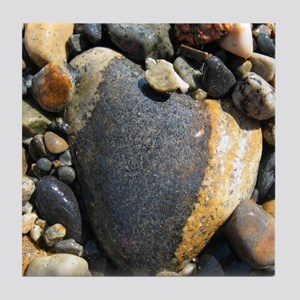 Acadia N.P. Sea Rocks Tile Coaster