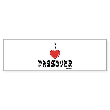 I LOVE PASSOVER Sticker (Bumper)
