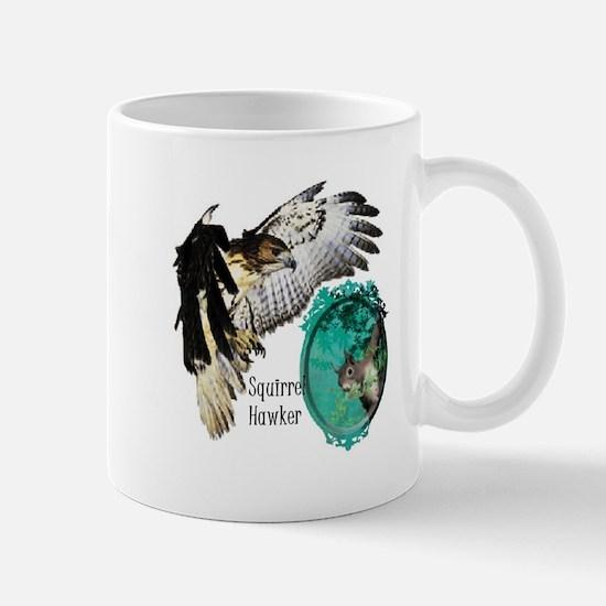 Squirrel Hawking Mug