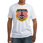 USS DRUM Fitted T-Shirt