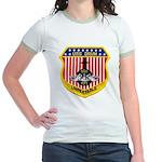 USS DRUM Jr. Ringer T-Shirt