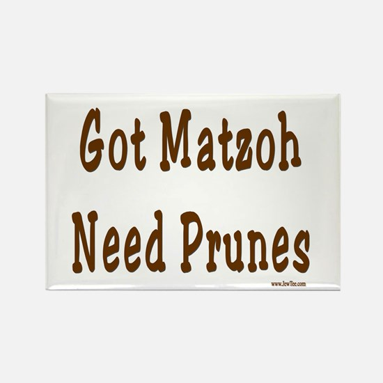 Prunes Passover Rectangle Magnet