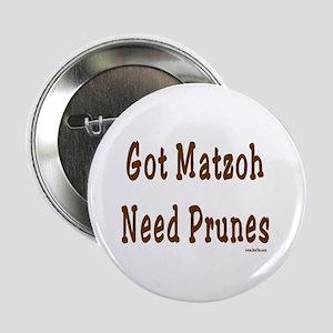"Prunes Passover 2.25"" Button"