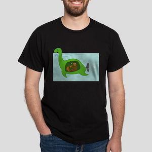 Bigfoot and Nessie Dark T-Shirt