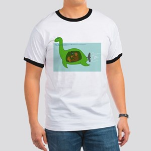 Bigfoot and Nessie Ringer T