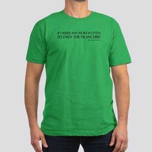 Rotten Men's Fitted T-Shirt (Green)