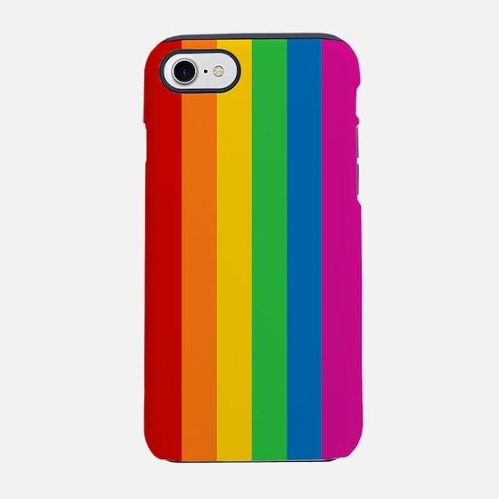rainbow-stripe_ff.png iPhone 7 Tough Case