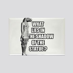 Shadow of the statue Rectangle Magnet