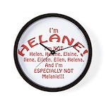 I'm Helane! Wall Clock