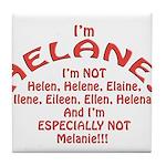 I'm Helane! Tile Coaster