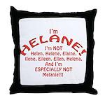 I'm Helane! Throw Pillow