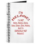 I'm Helane! Journal