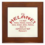 I'm Helane! Framed Tile