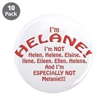 """I'm Helane! 3.5"""" Button (10 pack)"""