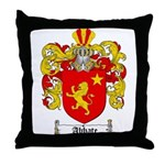 Abbate Coat of Arms / Abbate  Throw Pillow
