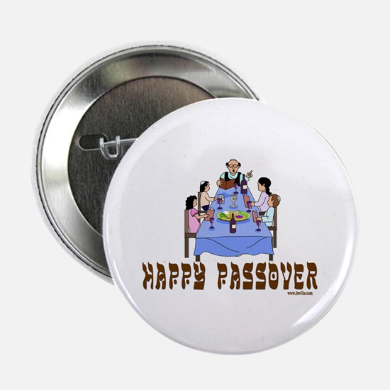 """HAPPY PASSOVER 2.25"""" Button"""