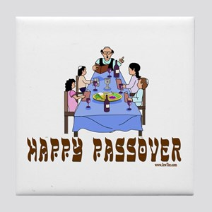 HAPPY PASSOVER Tile Coaster