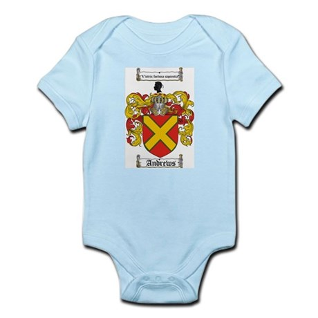 Andrews Coat of Arms Infant Creeper