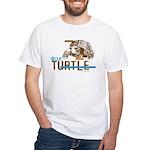 Box Turtle Cool Tee White T-Shirt