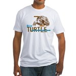 Box Turtle Cool Tee Fitted T-Shirt