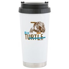 Box Turtle Cool Tee Stainless Steel Travel Mug