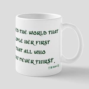 Irish 3:17 Reading Mug