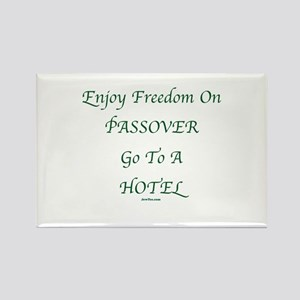 Freedom on Passover Rectangle Magnet