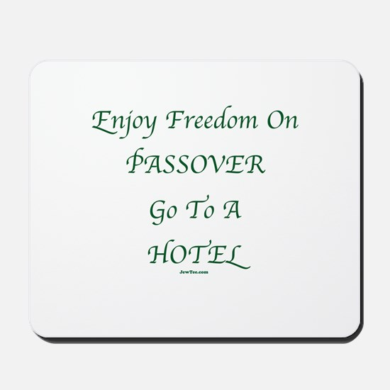 Freedom on Passover Mousepad