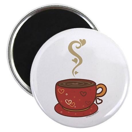 "Coffee Love 2.25"" Magnet (10 pack)"