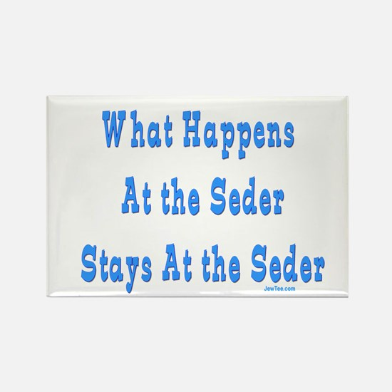 Seder Passover Rectangle Magnet
