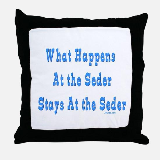 Seder Passover Throw Pillow