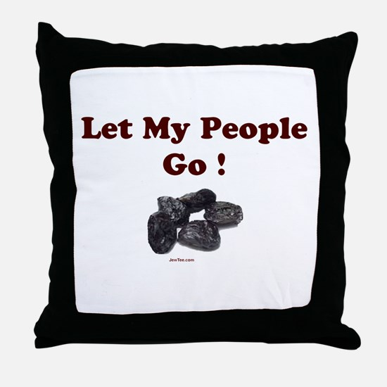 Let People Go Passover Throw Pillow