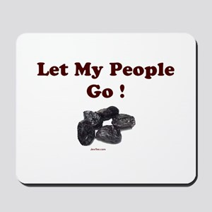 Let People Go Passover Mousepad