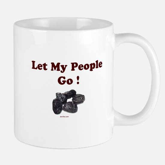 Let People Go Passover Mug