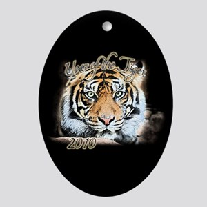 Year of the Tiger Ornament (Oval)
