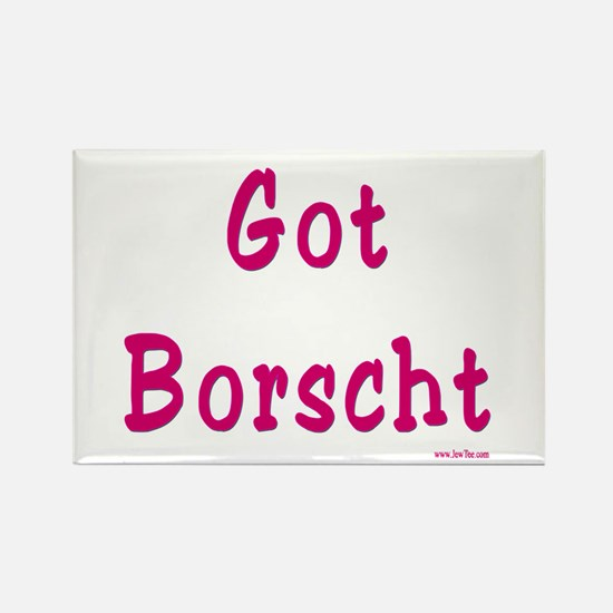 Got Borscht Passover Rectangle Magnet