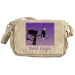 Sunset Bald Eagle Messenger Bag