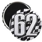 Flag No. 62 Magnet