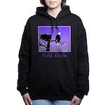 Sunset Bald Eagle Women's Hooded Sweatshirt