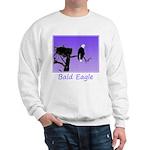 Sunset Bald Eagle Sweatshirt