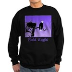 Sunset Bald Eagle Sweatshirt (dark)