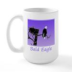 Sunset Bald Eagle 15 oz Ceramic Large Mug