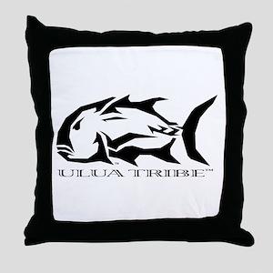 Ulua Tribe Throw Pillow